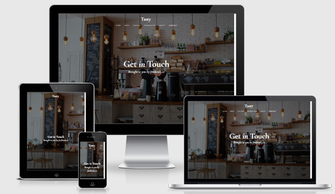 Restaurant business plan template responsive