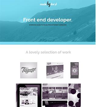 Design Inspirational Portfolio Website