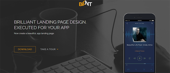 free html landing page templates