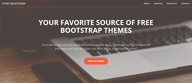 Free HTML Landing Page Templates Built With HTML And Bootstrap - Html welcome page template