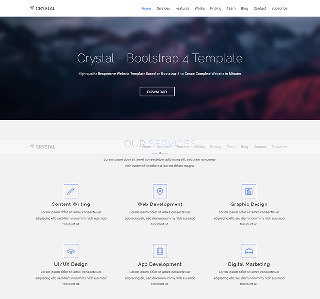 Best Bootstrap 4 Templates In 2018