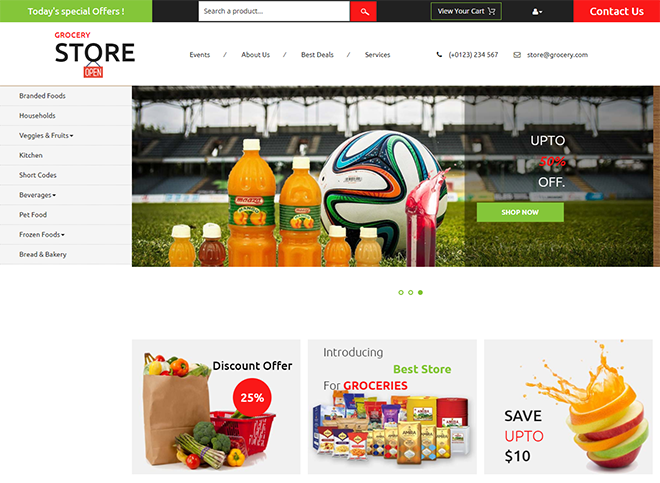 Download Free HTML eCommerce Templates for Online Shopping Websites