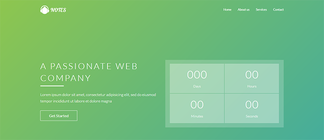 Free HTML Landing Page Templates Built With HTML And Bootstrap - Simple landing page html template