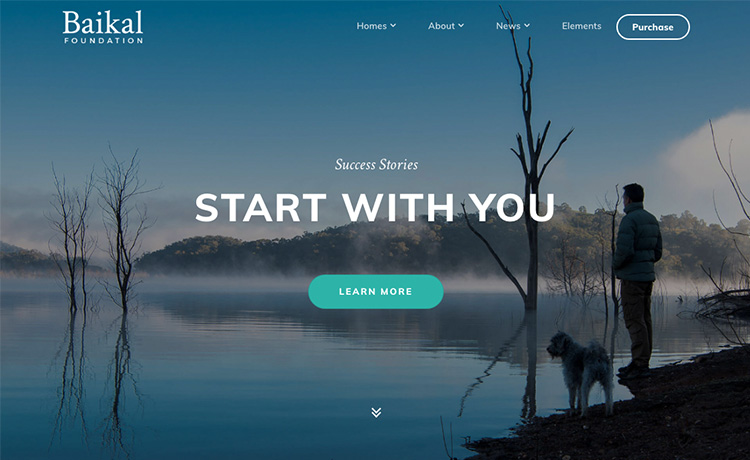 Html5 bootstrap 4 startup small business website template baikal bootstrap 4 startup small business website template accmission Images
