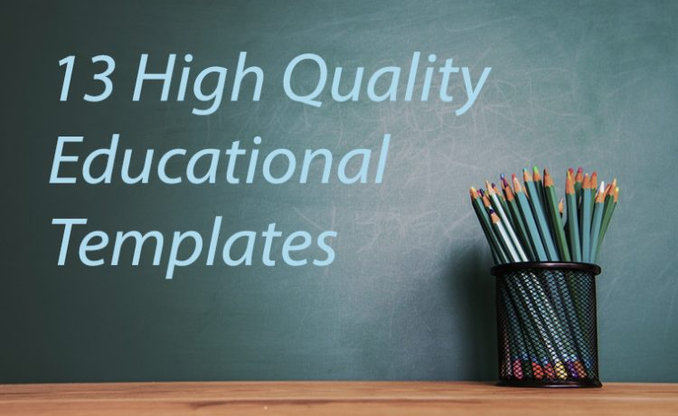 13 High Quality Educational Website Templates in 2017 For School ...