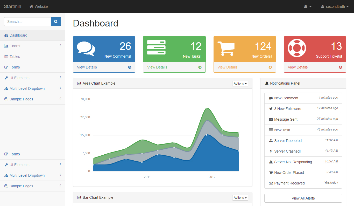 23 Free & Premium Best HTML5 Bootstrap Admin Dashboard Template in ...