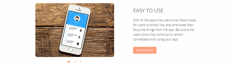 Free Responsive HTML5 Landing Page