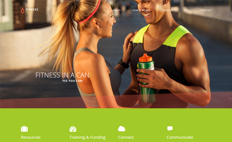 Fitness Gym Website Responsive Template Free – Fitness Templates Free