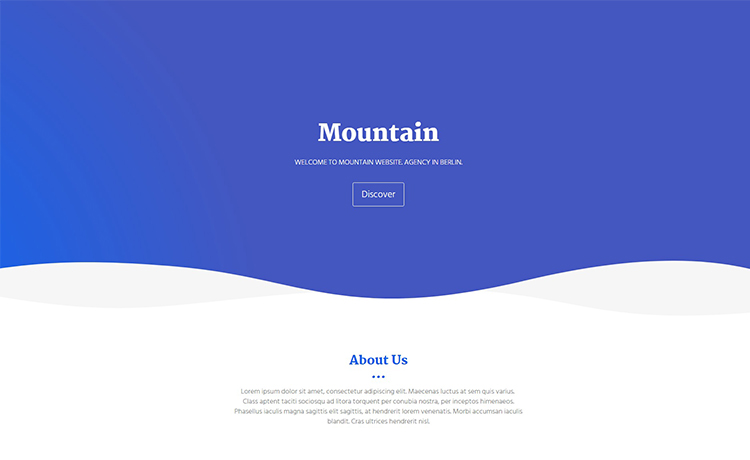 Free Bootstrap Agency HTML5 Template Download for Start-ups or Small ...