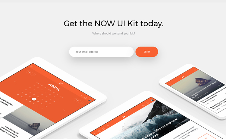 High Quality Free Bootstrap 4 UI Kit