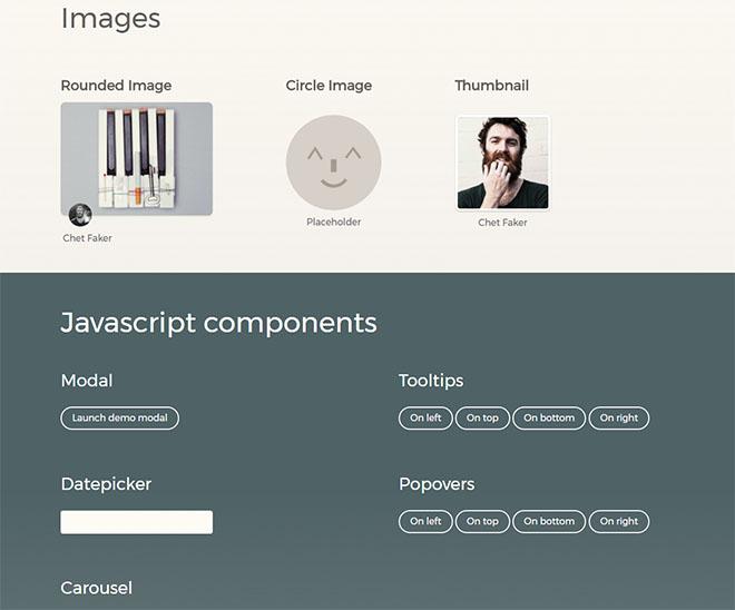 Free Bootstrap 3 UI Kit Download