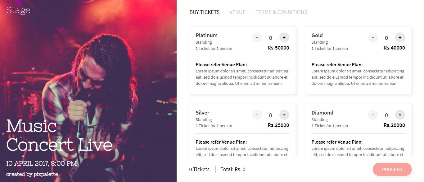 entertainment website templates