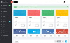 bootstrap 4 dashboard template