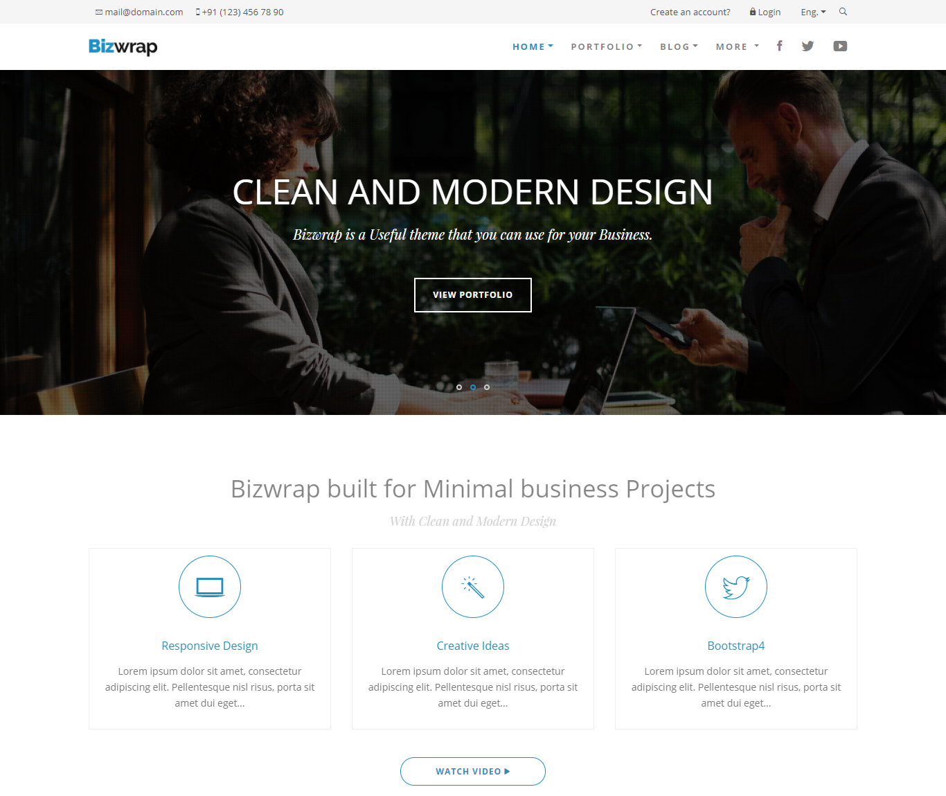 26 best corporate html templates free premium responsive and best corporate html templates flashek