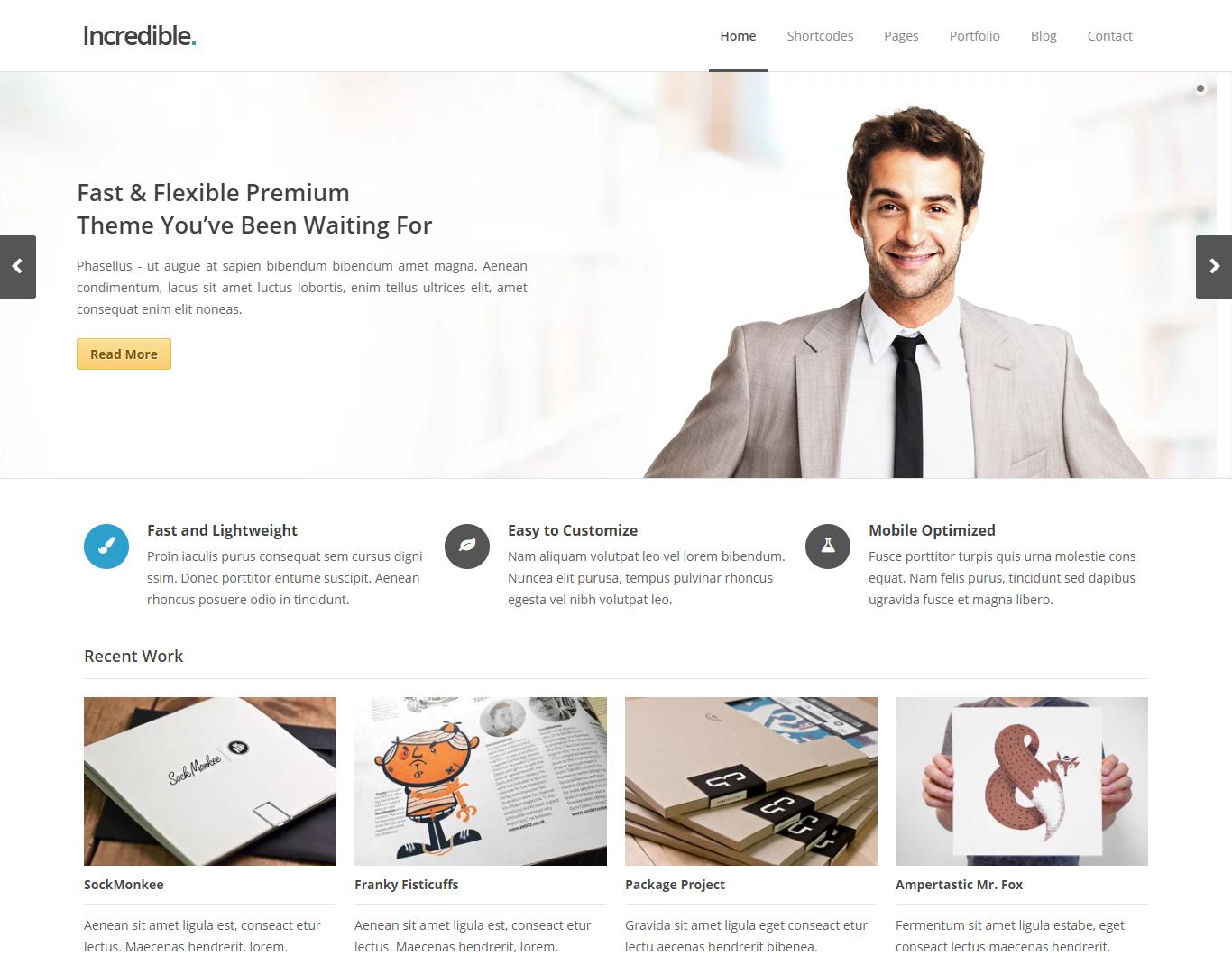 best corporate HTML templates