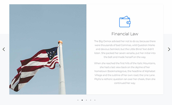 Free Bootstrap 4 Law Firm Template
