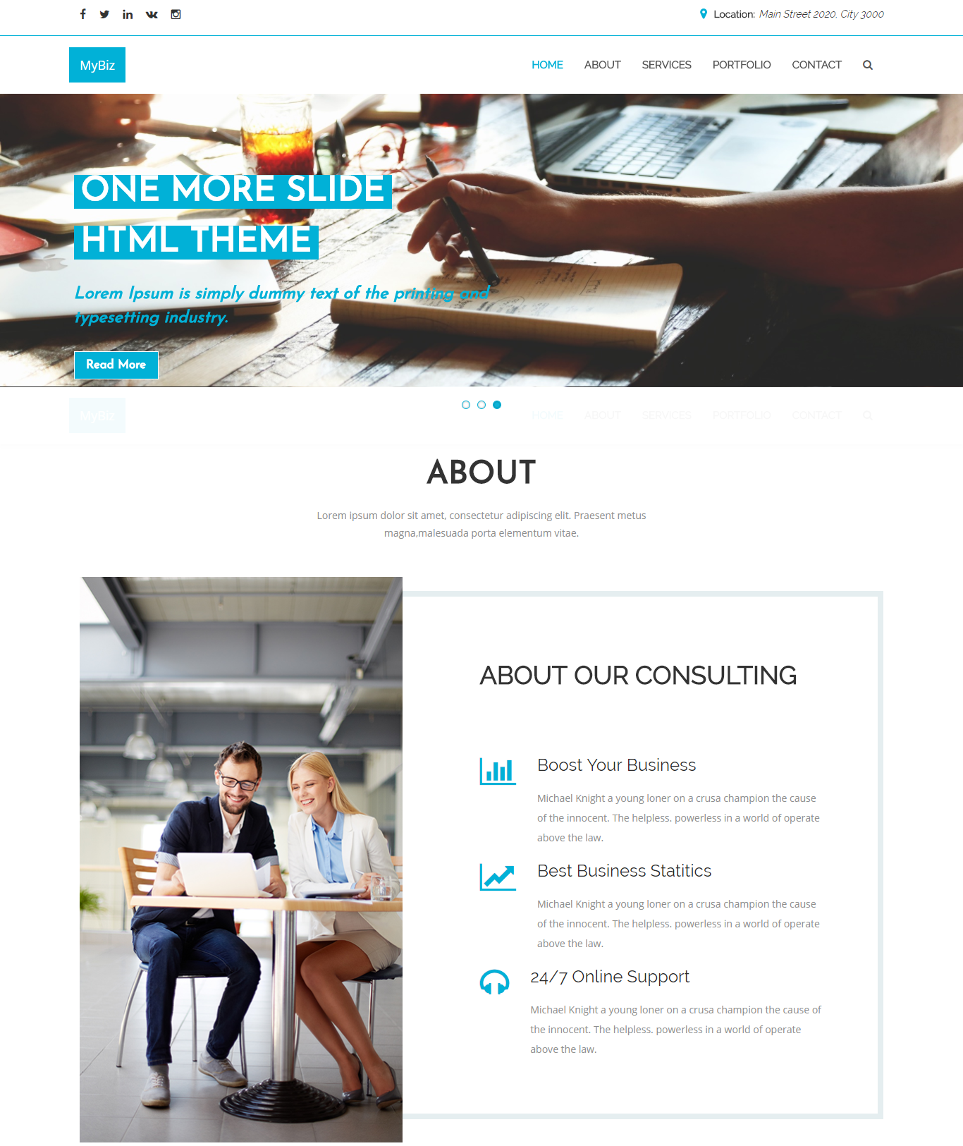 26 best corporate html templates free premium responsive and best corporate html templates cheaphphosting Images