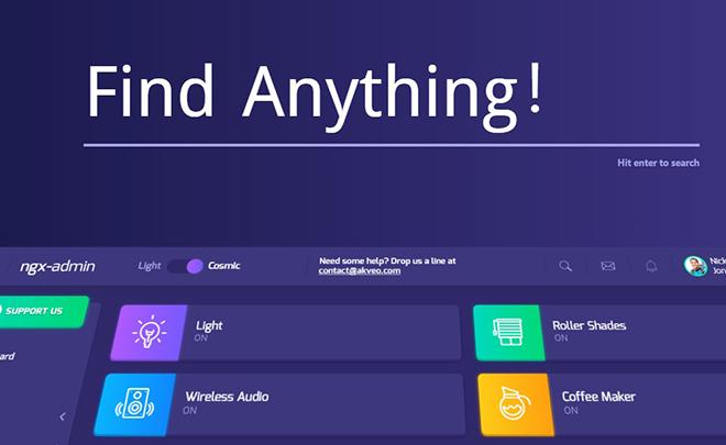 Free Bootstrap 4 Angular Admin Dashboard
