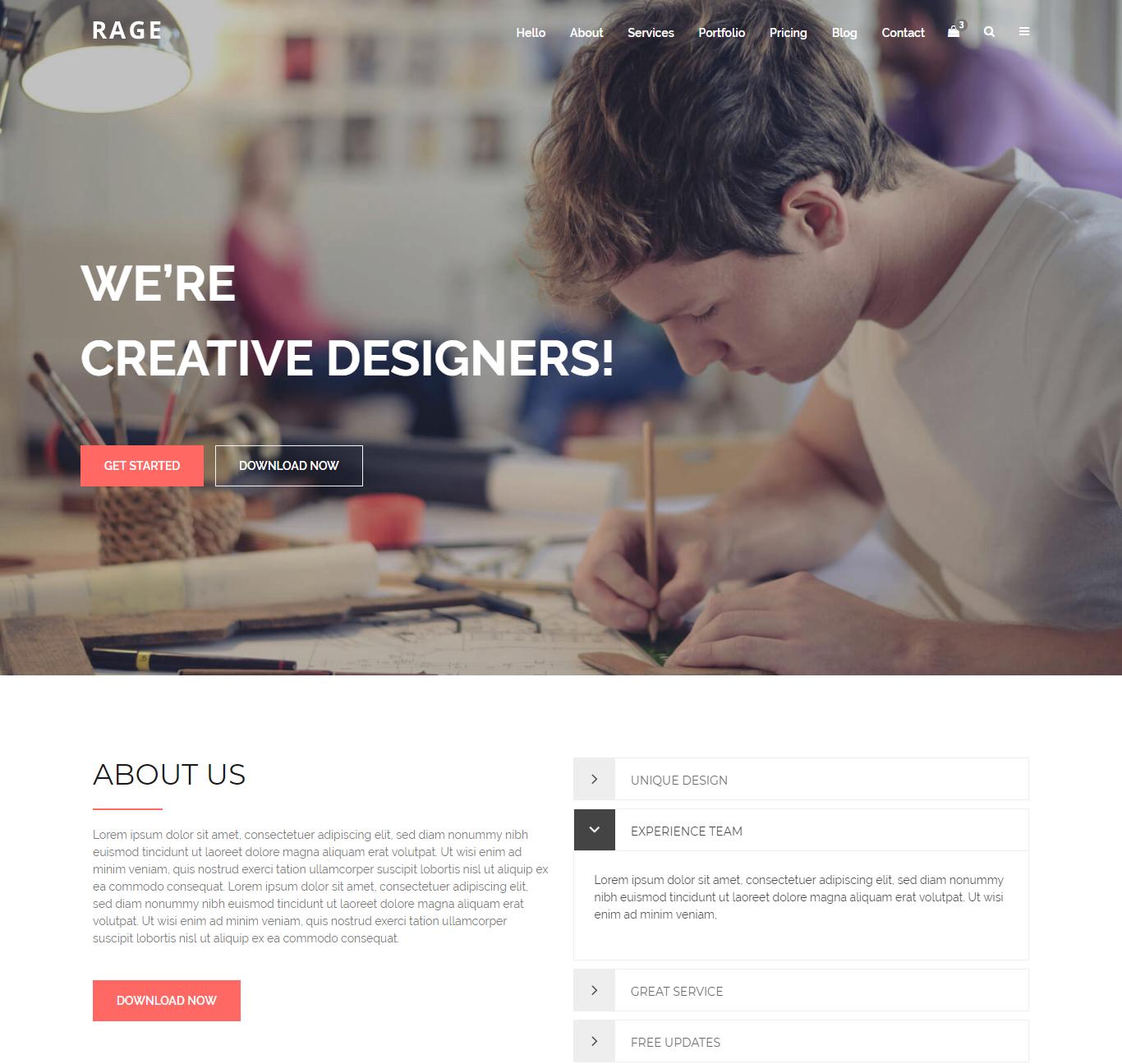 multipurpose website templates