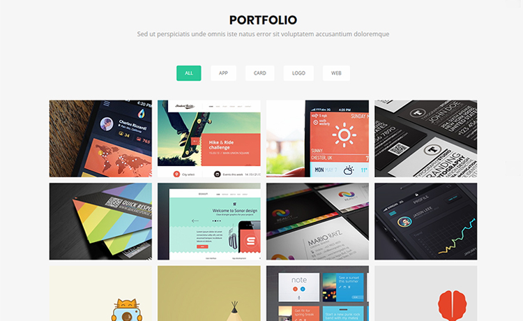 Free Bootstrap 4 Agency Template