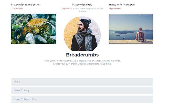 Free Bootstrap 4 Web UI Kit
