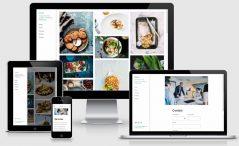 HTML5 Free Bootstrap 4 Portfolio Template