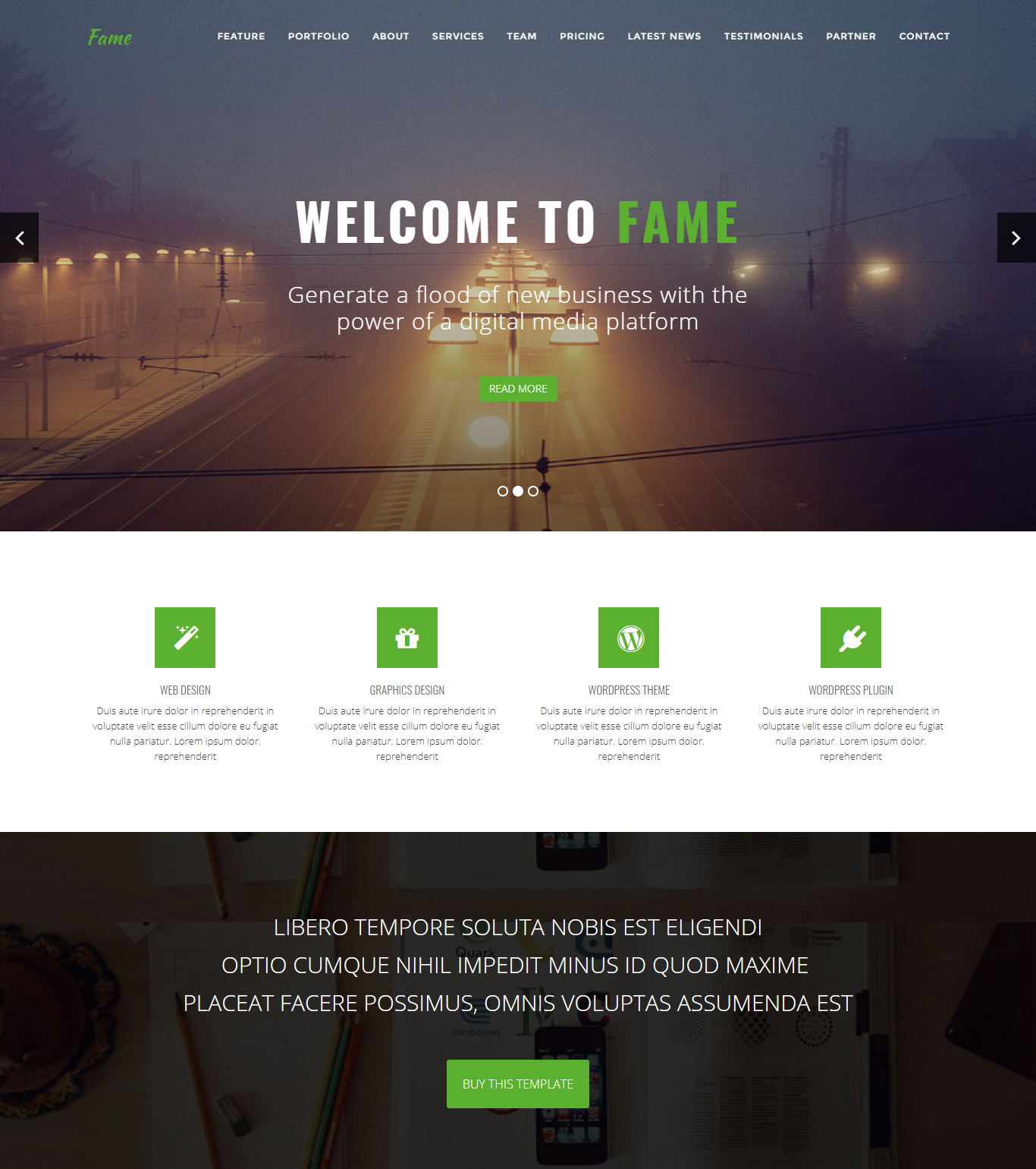 16 premium and free charity website templates for awesome site creation