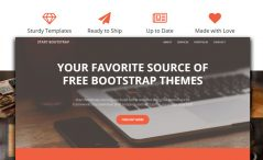 Free Bootstrap 4 Business Template