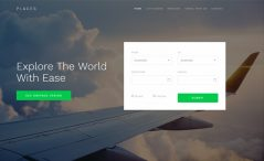 Free Travel Agency Website Template