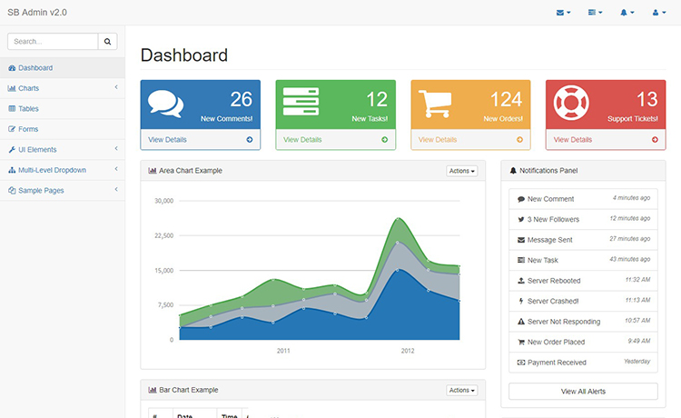 Modern html5 responsive free admin dashboard template download free admin dashboard template maxwellsz