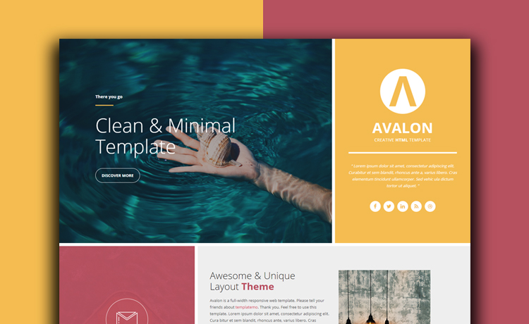 Free HTML5 Bootstrap One Page Event Website Template | Full-width ...