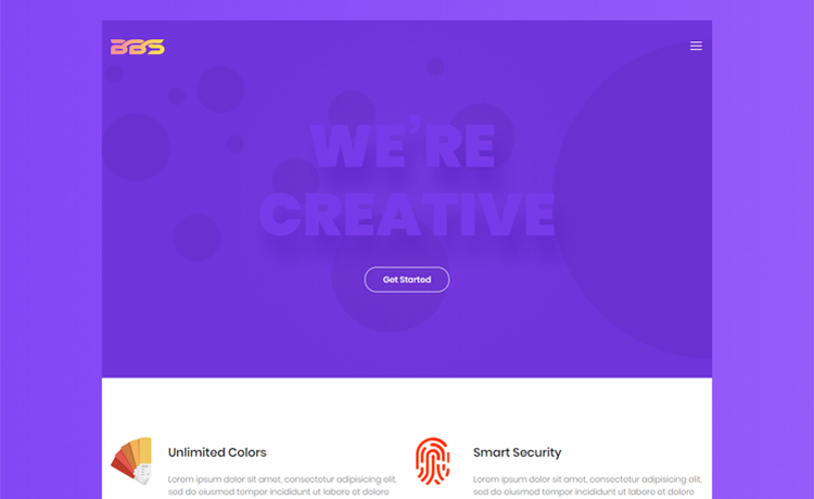Free one page bootstrap business template for startups and small one page bootstrap 4 business template accmission Images