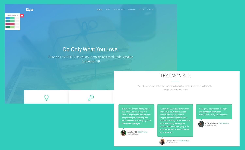 Free Multipurpose Portfolio Template