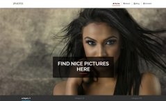 Bootstrap photography template
