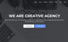Free HTML5 Agency Template