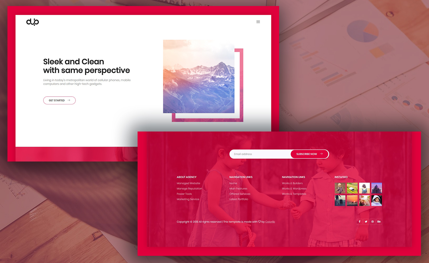 Free Digital Agency HTML5 Template