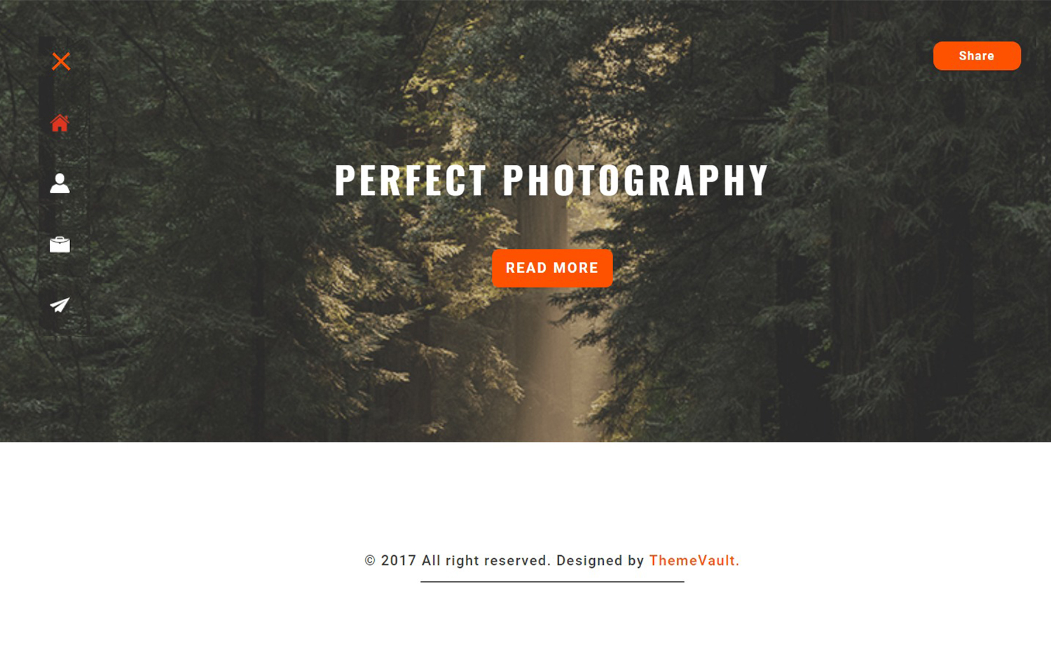 Free Professional Photography Template