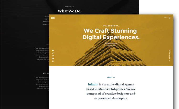 free html5 business website template - Free Website Template