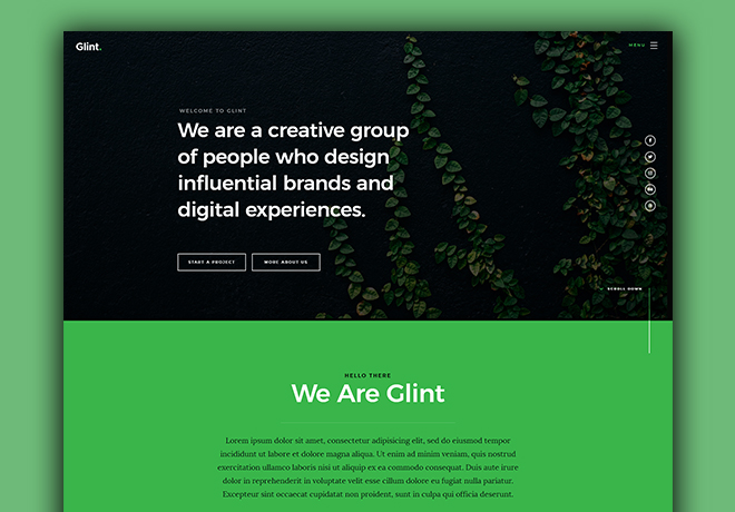 Free Bootstrap 4 Templates
