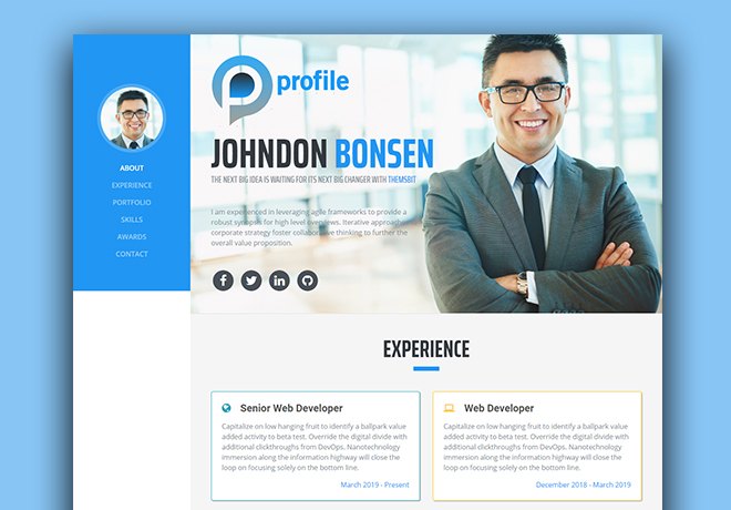 150 Best Free Responsive Html5 Bootstrap Template Of Different