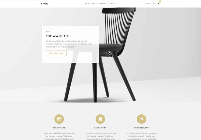 free html eCommerce templates