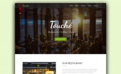 Free HTML Restaurant Website Template