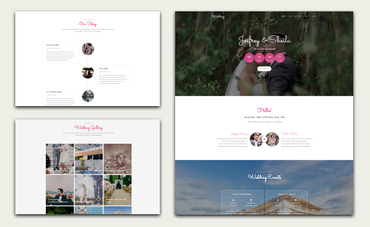 Photo gallery website templates free download