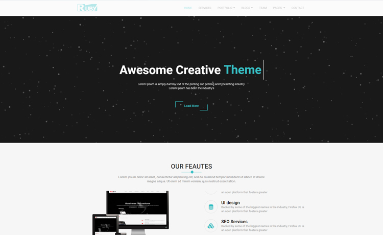 Multi page and feature affluent free bootstrap business template free bootstrap business template accmission Gallery