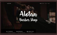 Free HTML5 Barbershop Template