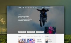 free bootstrap blog template