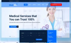 Free HTML5 Medical Website Template