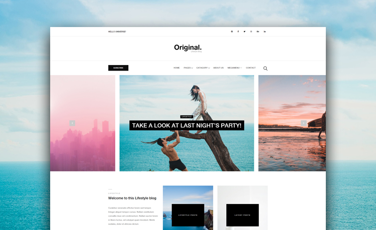 Want to make a blog download this free bootstrap blog website template free bootstrap blog website template maxwellsz