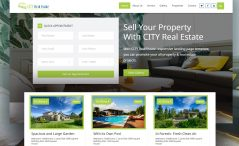 Free Real Estate Marketplace Website Template