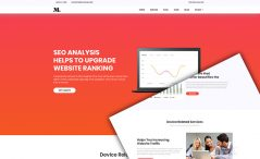 free agency Bootstrap website template